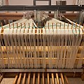 I know this looks a lot like yesterday's post, but bear with me as I dress this loom from back to front for the first time. Part of learning is documenting. ) I'll give it some good tension tomorrow. (51105611832).jpg