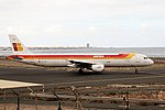Iberia EC-ILP A321 Arrecife (37447841452).jpg