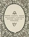 Icones, id est, Verae imagines virorum doctrina simul et pietate illustrium, - quorum praecipuè ministerio partim bonarum literarum studia sunt restituta, partim vera religio in variis orbis (14752070015).jpg