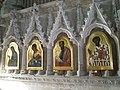 Icons in the chantry at Winchester Cathedral - geograph.org.uk - 1163881.jpg