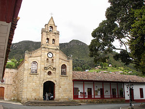 Church and cultural center of Sopó