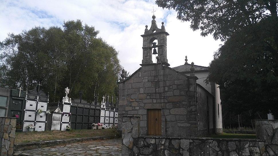 Igrexa Santa Comba de Orizón, Castro de Rei