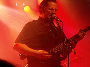 Ihsahn - Ihsahn performing at Hole in the Sky in August 2010
