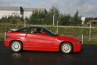 Alfa Romeo SZ - Image: Il Mostro