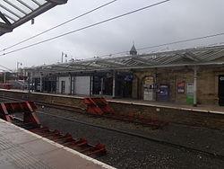 Ilkley railway station, Station Road, Ilkley (11th March 2015) 003.JPG