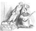 Illustrirte Zeitung (1843) 02 013 2 Barroilhet als Karl VI – Madame Stolz, Odette.PNG