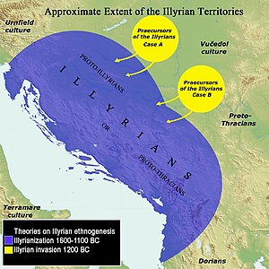 Illyrians - Ethnogenesis of the Illyrians.