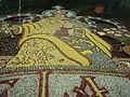 Imágenes elaboradas colectivamente con semillas de arroz, frijol, maíz, garbanzo y lenteja para la fiesta de la Natividad de la Virgen (Tepoztlán, Morelos, México) del 8 de septiembre de cada año (foto 4 de 14).jpg