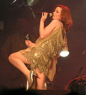 Róisín Murphy - Murphy performing at the Orange Music Experience Festival in Haifa, Israel on 27 June 2005, as part of the Ruby Blue tour.