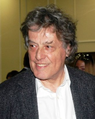 Tom Stoppard - Stoppard at a reception in Russia in 2007