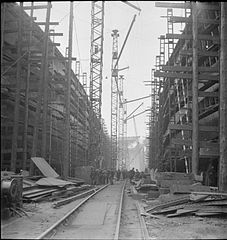 In a British Shipyard- Everyday Life in the Shipbuilding Industry, UK, 1943 DB172.jpg