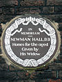 In memoriam Newman Hall D D homes for the aged given by his widow.jpg