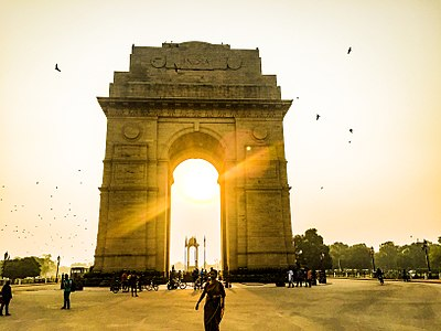 India Gate on a morning.jpg