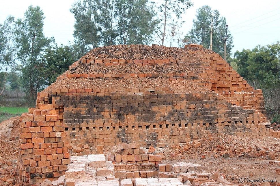 Indian brick kiln