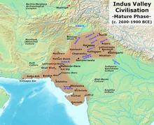 IVC major sites
