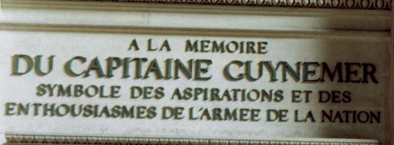 Fichier:Inscription Guynemer.jpg