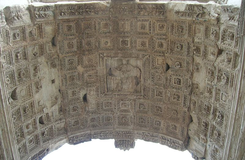 File:Inside arch - the Arch of Titus.jpg