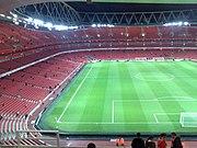 Inside the Emirates Stadium