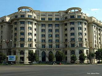 National Institute of Statistics (Romania) - The National Institute of Statistics in Bucharest in 2009.