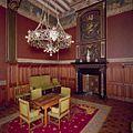 Interieur, bel-etage, voorzijde rechts (Vestibule van de Koninklijke Wachtkamer), interieur, Kamer met 19de eeuwse muurschilderingen en betimmering - Amsterdam - 20392801 - RCE.jpg