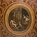 Interieur, eerste verdieping, voorzijde rechts (rechter voorkamer), plafondschildering, Eurykleia was de voeten van Odysseus - Amsterdam - 20391773 - RCE.jpg
