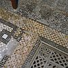 interieur museumzaal, detail van de terrazzo vloer - haarlem - 20284528 - rce