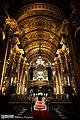 Interior da Igreja de São Francisco de Paula, Rio de Janeiro - Nave, vista para o coro alto (9).jpg