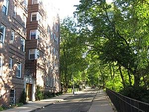 Inwood, Manhattan - A residential street in Inwood