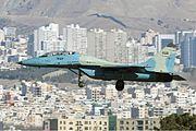 Iran Air Force Mikoyan-Gurevich MiG-29UB Sharifi