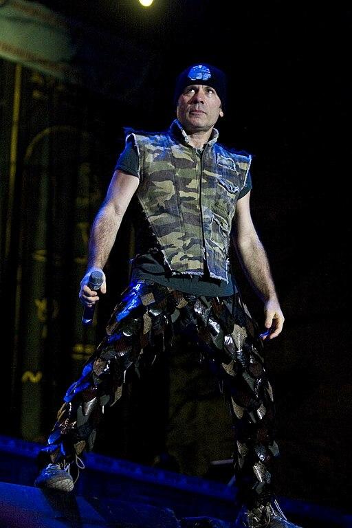 Iron Maiden en Costa Rica Bruce