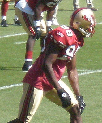 Isaac Bruce - Bruce with the 49ers in October 2008.