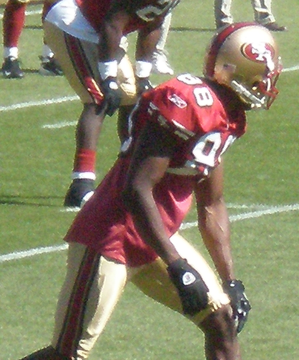 Isaac Bruce on field pregame at Eagles at 49ers 10-12-08