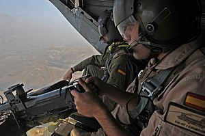 Spanish Armed Forces - Spanish soldiers in Afghanistan.