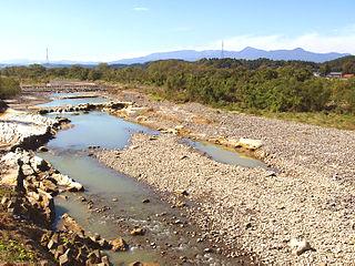 river in Japan