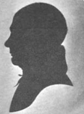 Israel Smith - Silhouette of Israel Smith (only known likeness)
