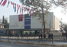 Istanbul Naval Museum new building Oct 2013.JPG