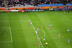 2010 FIFA World Cup Group F - Italy vs Paraguay