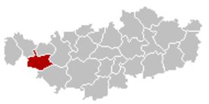Ittre - Image: Ittre Brabant Wallon Belgium Map