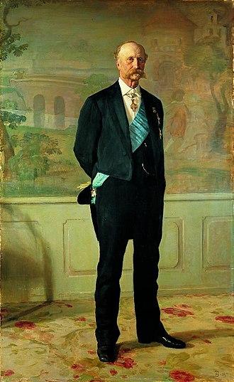 Jacob Brønnum Scavenius Estrup - Image: J.B.S. Estrup (Jerndorff painting)