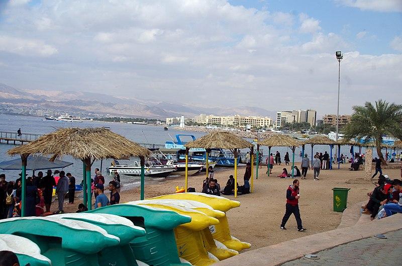File:JO-aqaba-strand.jpg