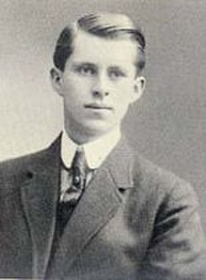 Joseph P. Kennedy Sr. - Kennedy's yearbook photo from Boston Latin School