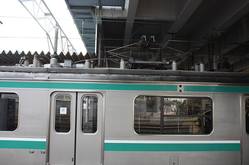 File:JR East E501 Pantograph.jpg
