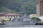 JS Abukuma(DE-229) right front view at JMSDF Kure Naval Base May 6, 2018 02.jpg