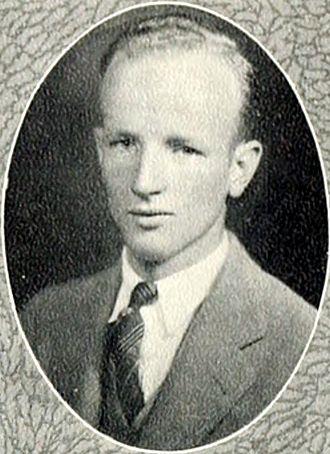 J. Spencer Bell - 1927 Duke University Yearbook (age 21)