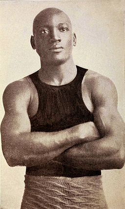 Jack Johnson boxer c1908