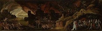 Jacob Isaacsz. van Swanenburg - The Last Judgment and the Seven Deadly Sins