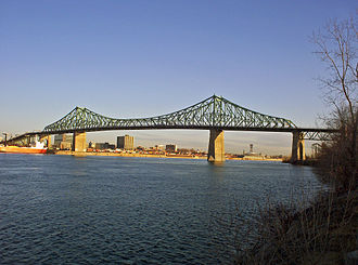 Jacques Cartier Bridge - Image: Jacques Cartier bridge