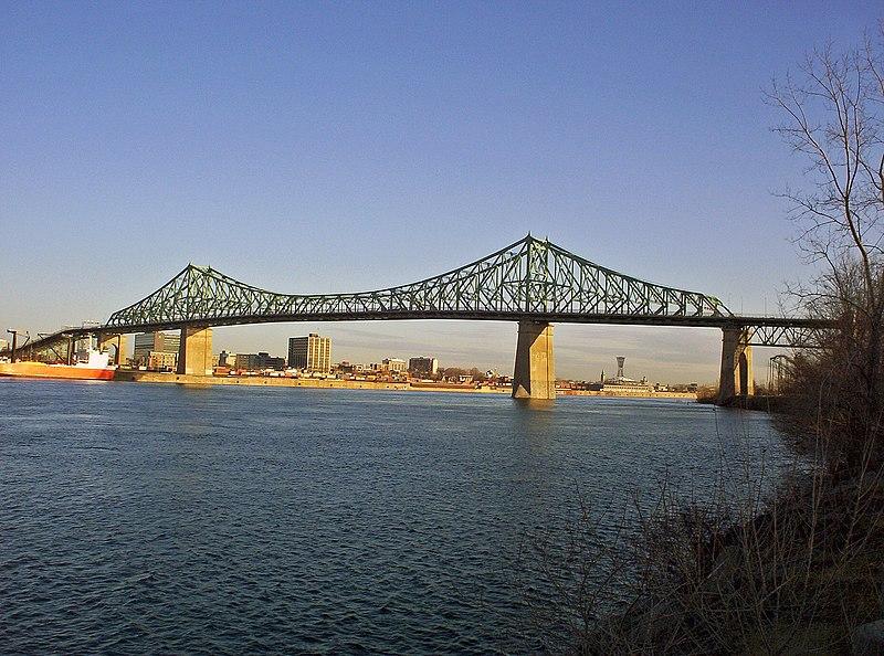 Vue du Pont Jacques-Cartier