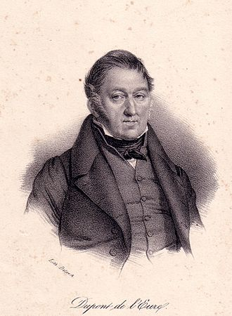 French Provisional Government of 1848 - Jacques-Charles Dupont de l'Eure, President of the council