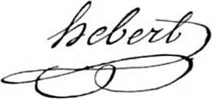 Jacques Hébert - Image: Jacques René Hébert (signature)